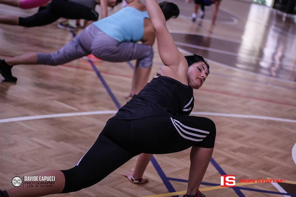 edzőtábor, iron system
