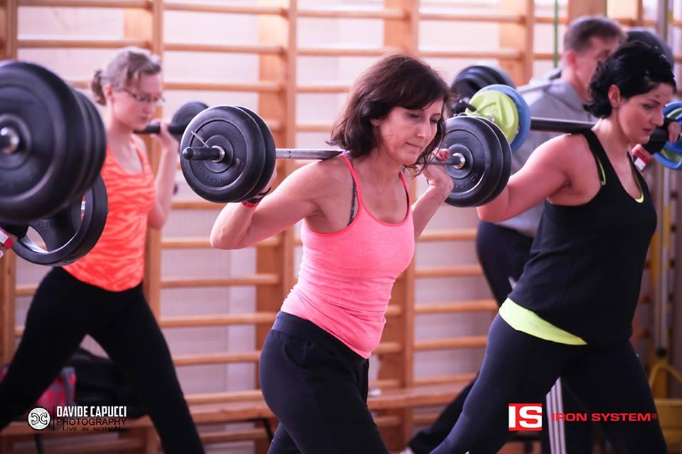 hot iron edzés